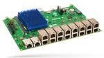 TSN-Baseboard mit Layerscape-CPU-Modul: das miriac-SBC-LS1046A System