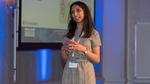 Syreeta Bath, technische Spezialistin für die Fahrzeugnetzwerk-Kommunikation bei Jaguar Land Rover führte nicht nur charmant, sondern mit einem tiefen Know-how durch die Veranstaltung.
