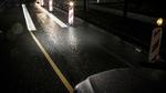 Führungslinien des Digital Lights auf der Straße