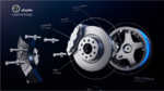 Schematische Darstellung Elaphe In-Wheel-Technik