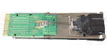 """Transceiver-Baustein """"QSFP28"""" für 4 × 25 GBaud"""