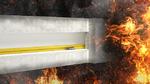 Brandschutzkanal speziell für LWL-Kabel