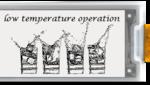 E-Paper-Display für Eiseskälte
