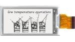 2-Zoll-E-Paper-Display für Kühlketten-Logistik