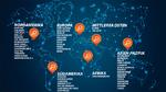 Diese 50 Städte hat Frost & Sullivan im Rahmen seiner Smart-City-Studie bewertet