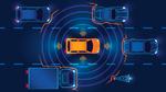 Zahlreiche Sensoren informieren das autonome Kraftfahrzeug über die Fahrzeugumgebung