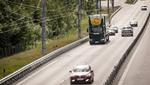 Oberleitungs-Lkw auf öffentlichen Straßen testen