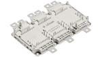 Das HybridPACK Drive Leistungsmodulgehäuse wurde hinsichtlich reduzierter Leistungsverluste, höherer Strombelastbarkeit und einfacher Skalierbarkeit entwickelt.