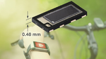 Schnelle PIN-Photodiode für flache Sensordesigns