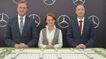 Markus Schäfer, Jadwiga Emilewicz und Andreas Schenkel