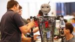 4_Vorbereitungen bei der Hochschule Offenburg bei Roboter Sweaty_Hochschule Offenburg