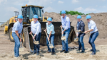 Ground-Breaking Ceremony for New LED Production