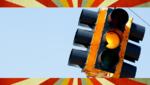 Verkehrsampeln über Funk von Lochstreifen gesteuert