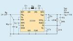 Beschaltung und Funktionsumfang des LTC3130 in einer typischen Applikation