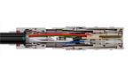 Hybrider LWL-Steckverbinder für HD-Videokameras