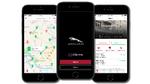 Bildschirmansichten Jaguar Public Charging App