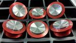 Metal-Line-Custom-Taster mit konkavem, besonders griffigem Betätiger