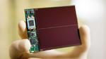 insatz eines Mikro-Akkus im energieautarken Sensorknoten, der per Solarzelle versorgt wird