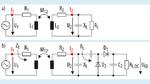 Ersatzschaltbild eines induktiv gekoppelten Systems zur kontaktlosen Energieübertragung