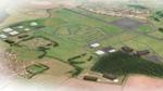 Vogelperspektive auf Flugplatz Hullavington