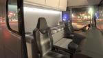 Sitzkonzept für autonom fahrende Nutzfahrzeuge