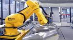 Roboter im Werkzeugbau bei Audi