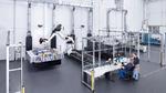 Optische Roboter-Messzelle, Schuler