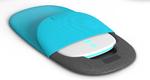 Das Sensormodul wird in einer Tasche integriert am Rücken getragen.