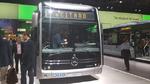 Der Mercedes-Benz eCitaro feierte seine Weltpremiere auf der IAA 2018. Ende des Jahres geht der elektrisch angetriebene Stadtbus dann in Serie.