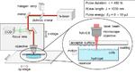 Schematische Darstellung des 3D femtosecond bio-printing-Aufbaus