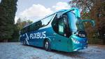 Flixbus schickt ersten Elektrofernbus auf die Reise