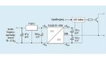 Applikationsschaltung eines DC/DC-Wandlers zum Versorgen von IGBT-Treiberschaltungen