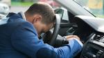 Polizei stoppt schlafenden Autofahrer
