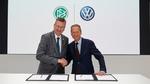 Startschuss für Partnerschaft zwischen Volkswagen und DFB