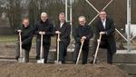 Spatenstich für 'Karlsruher Forschungsfabrik'