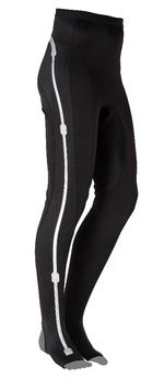 Die Hose lässt sich wie eine normale Sporthose tragen.