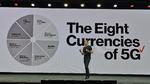 Mit »den 8 Währungen von 5G« will Vestberg seine Kunden für die fünfte Mobilfunkgeneration begeistern.