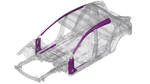 Kaltumgeformte Karosserieteile bei Mazda