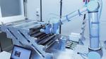 2_Programmierbarer Vision-Sensor InspectorP moniert an einem Roboter