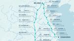 Routen des Batteriewechsel-Netzwerks von NIO