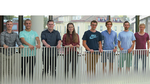 Das achtköpfige Team Heatshockers spürt mit dem elektronischen Point-of-Care-Gerät den Krebs frühzeitig auf