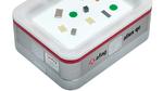 Werkzeuglose und schnellwechselbare Fördergutplatte