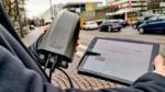 Straßenlaternen sammeln Daten
