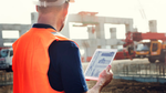 Baustelle mobile Unternehmensanwendungen
