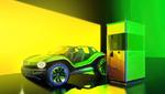 Schnellladesäule mit Energiespeicher von Volkswagen