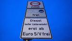 Nur Stichproben-Überwachung von Diesel-Fahrverboten