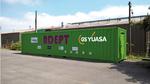 Container-basierter Energiespeicher