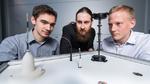 Roboterarme für große Greifer und kleine Endoskope