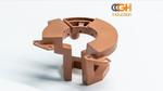 3D-Druck von Kupferspulen und –induktivitäten