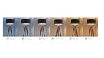 Stehleuchte mit Lichmanagementsystem mit wechselnder Lichtfarbe im tagesverlauf